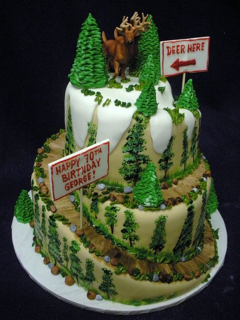 Mountain Cake by Angel Contreras...whose birthday is coming up?!