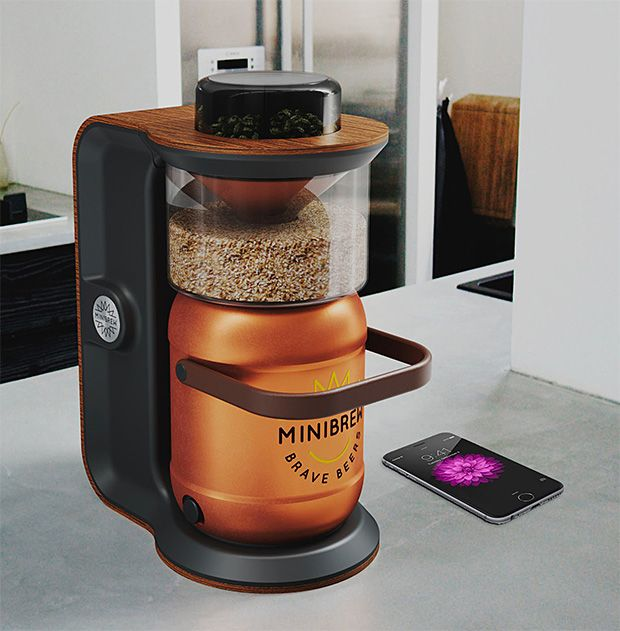 Minibrew Minibrew Is The World S First All In One