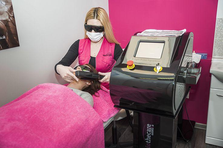 Na klinike BioTheCare absolvovala Baška špeciálnu fotoepiláciu.