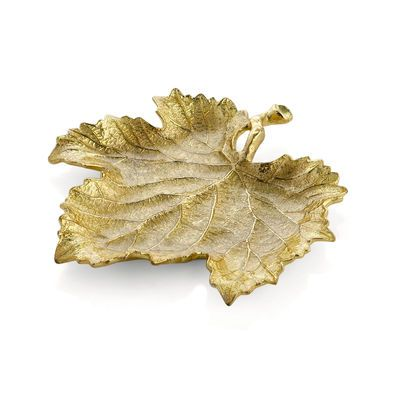 Grape leaf bowl