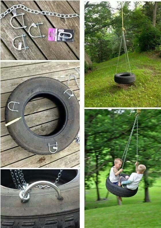 images  upcycle  tire  pinterest backyard playground tire planters  climbing