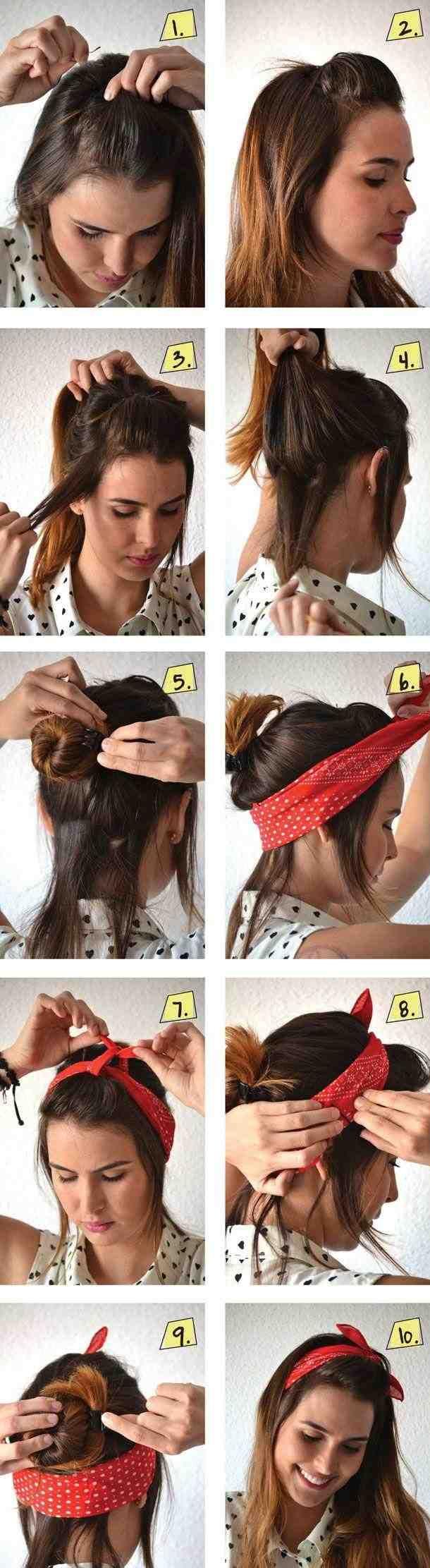 trending 50s hairstyles ideas