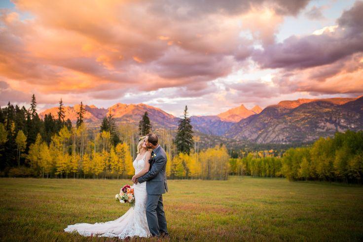 A Stunning Autumn Mountain Wedding in Durango