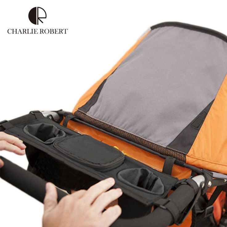 New Baby Stroller Cup Holder Multifunctional Stroller Accessories Poussette Oxford Cloth Stock Stroller Bag Organizer Tray HK997