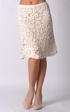 Anteprima Apparel crochet skirt