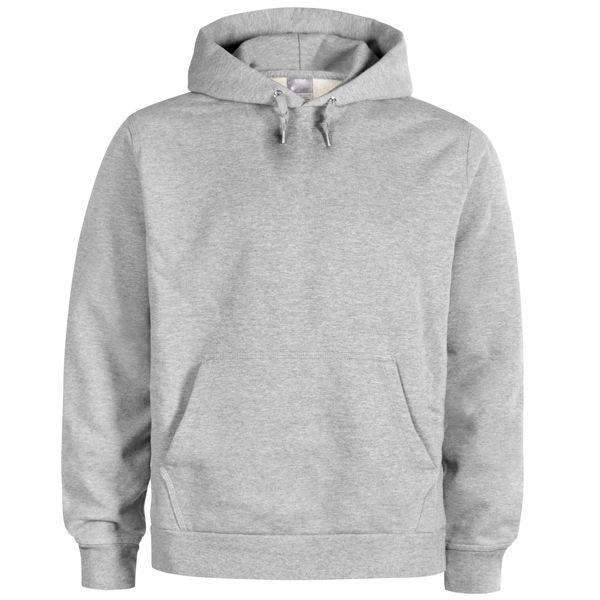 Blank Grey Hoodie