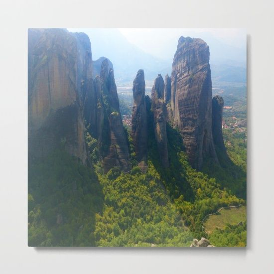 15% OFF ALL WALLART FREE SHIPPING ON EVERY ORDER  #kidspainting #christmas #xmasgifts #PrintedGift #christmashopping https://society6.com/product/meditation-up-to-meteora--greece--nature-t6w_metal-print#s6-8115643p54a71v465