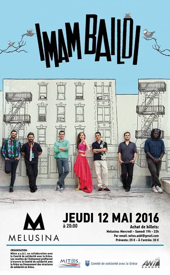 @imambaildiband live @Luxembourg May 12th 2016! More info: https://goo.gl/ChCikN