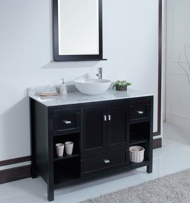 43 best images about contemporary bathroom vanities on - How to clean marble bathroom vanity top ...