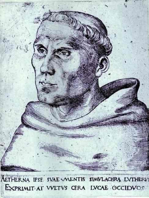 Lucas Cranach Martin Luther 1520