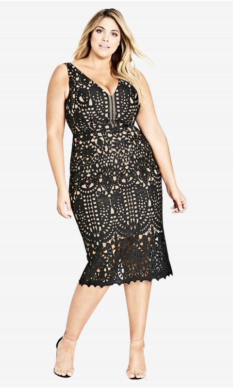 Plus Size Party Dress - Plus Size Cocktail Dress #plussize #dress