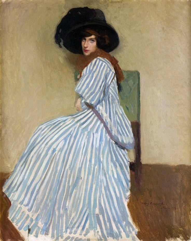 Model Jane by Alfons Karpiński, 1908, Muzeum Narodowe w Krakowie (MNK)