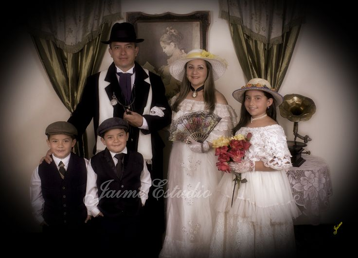 Retratos familiares vintage