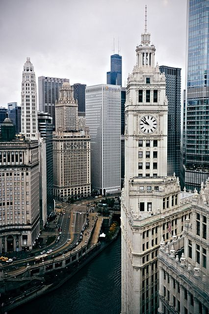 chicago: Photos, Cityscapes, Illinois, Grandstand Towers, Chicago Travel, Architecture, Wrigley Building, Rivers, Sweet Home