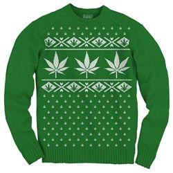Pot Leaf Sweater