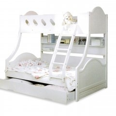 Single over Double Bunk Bed. Buy discounted bunk beds, single over double bunk beds and kids beds now at Beds Online
