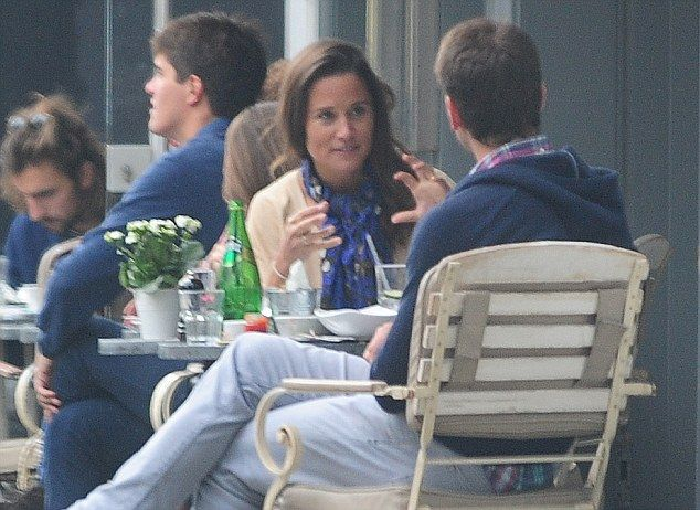 The Duchess of Cambridge's sister Pippa Middleton, 32, was spotted enjoying a lunch in Fulham on Tuesday with banker Alex Loudon, 35 (pictured above), whom she dated for three years before separating in 2011
