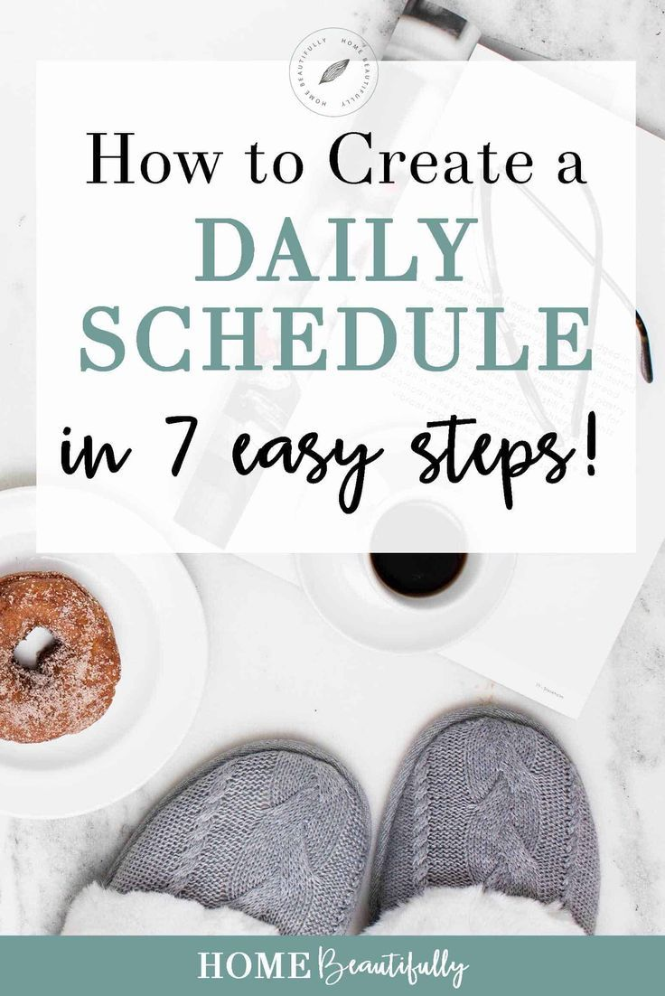Looking for simple tips for how to make a daily schedule? This article will help with time management, morning routines, and weekly cleaning to get your life on track! For moms, if you're looking for a planner to keep your kids on a routine, this is for you! Similar ideas: daily planner ideas | daily planner DIY | daily routine | daily schedule for moms | daily schedule template #dailyplanner #dailyschedule #weeklyplanner #weeklyschedule #timemanagement #organization