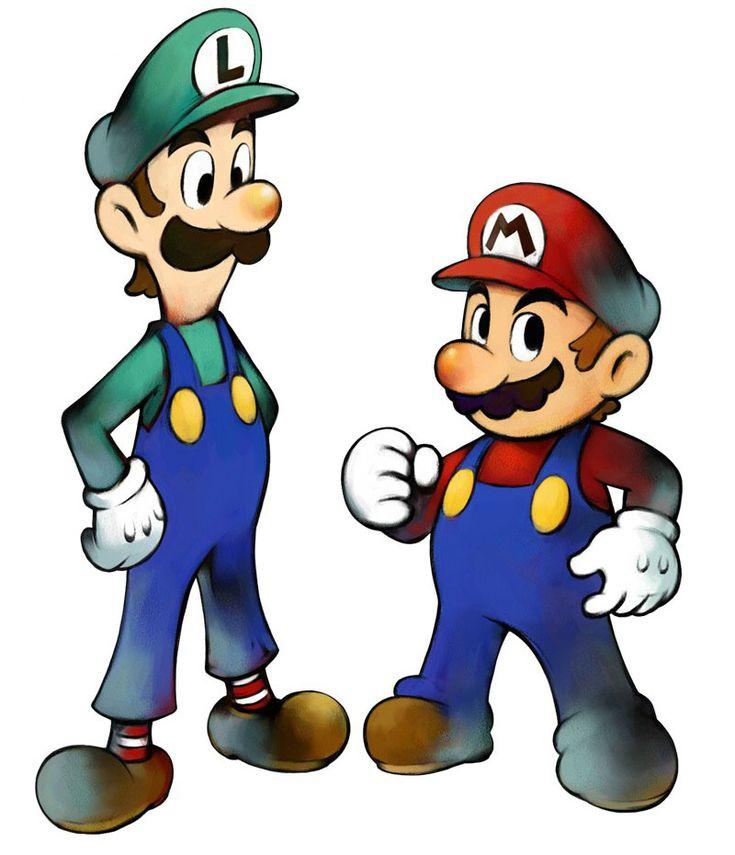 Luigi & Mario   Mario & Luigi: Superstar Saga