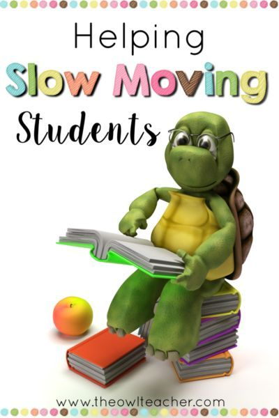 Do you have slow moving students? These slow learners can really make teaching frustrating, especially when you aren't sure what to do. These strategies help teachers with their