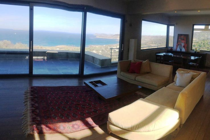Check out this awesome listing on Airbnb: Panoramic Sea View*all comfort! - Villas for Rent in Sitia