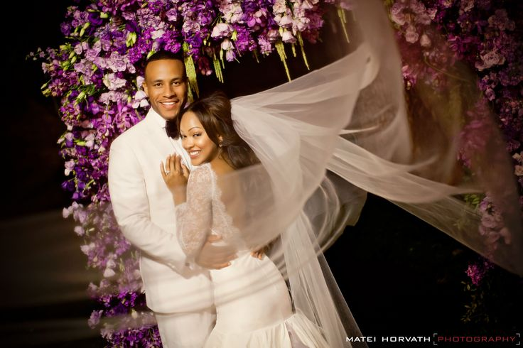 MEAGAN GOOD DEVON FRANKLIN'S WEDDING 2012