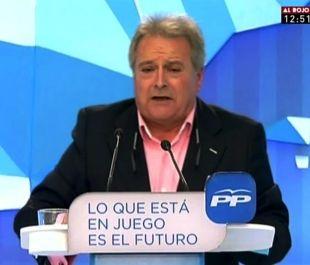 """Rus, president del PP de València: """"O el voteu o vos pegue una palissa"""""""