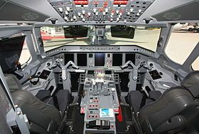 Embraer ERJ-190-100ECJ Lineage 1000 Cabin