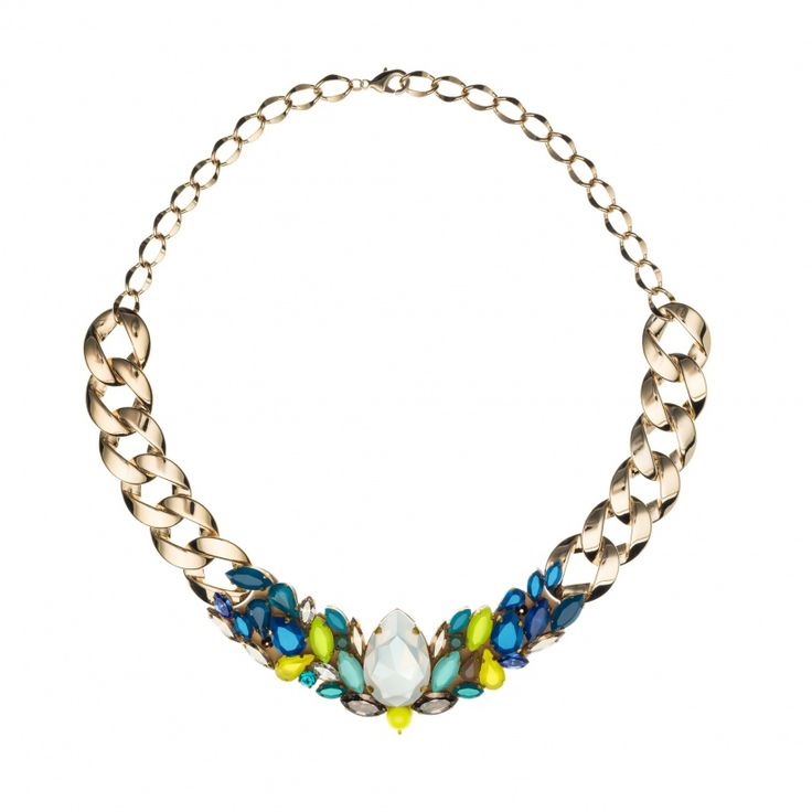 AIN ELECTRIS BLUE Necklace – JOOMAY