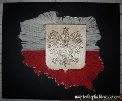Majsterklepka - Zrób to sam: 160. Konturowa mapa Polski
