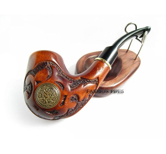 New Style VIKING Wood pipe Tobacco Pipe/Pipes by FashionPipes