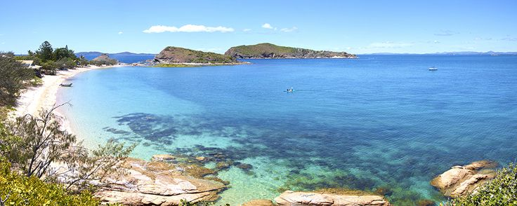 Pumpkin Island is a private island eco-retreat nestled in the Keppel Islands, only 14 kilometres off the coast from Yeppoon. A holiday offering a blissful escape for a group of up to thirty-three guests, and a chance to partake in pristine nature.