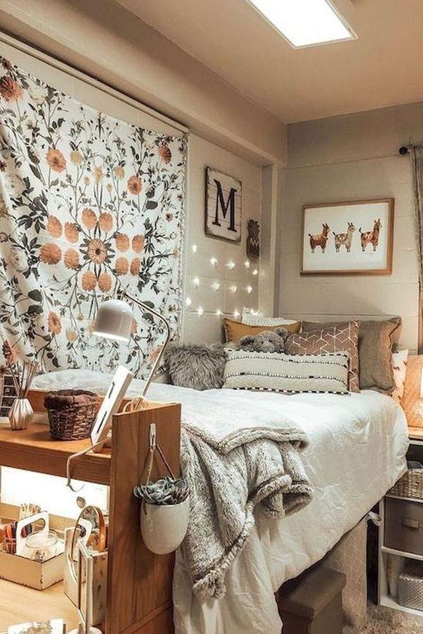 Dormitory Bedroom House College Furniture Interior Design In 2020 College Bedroom Decor Dorm Room Designs Dorm Room Inspiration
