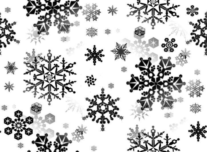 Узоры зимы картинки черно белые