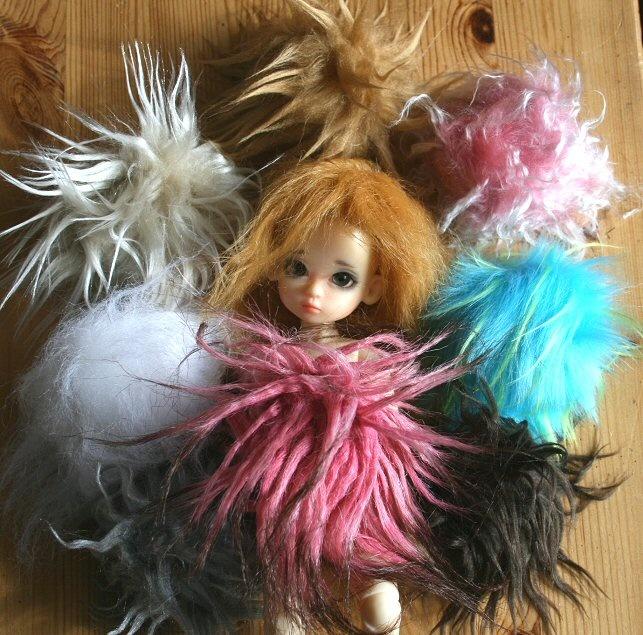Wigs By Poklfil Via Makies Forum Makie Mine Pinterest