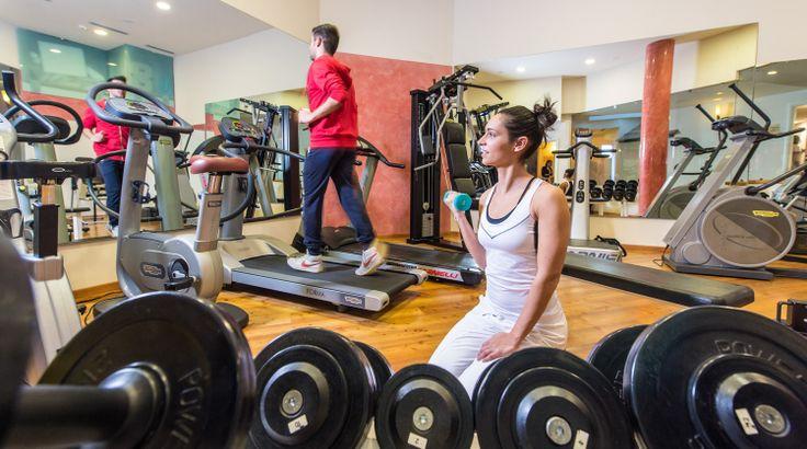 Das hauseigene #Fitnessstudio hilft Ihnen fit im #Urlaub zu sein. Mehr Informationen auf http://www.selectedhotels.com/de/hotel/alp-wellness-sport-hotel-panorama