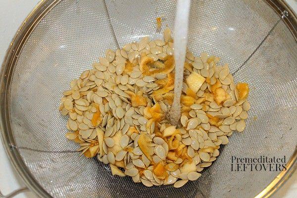 How to Roast Acorn Squash Seeds