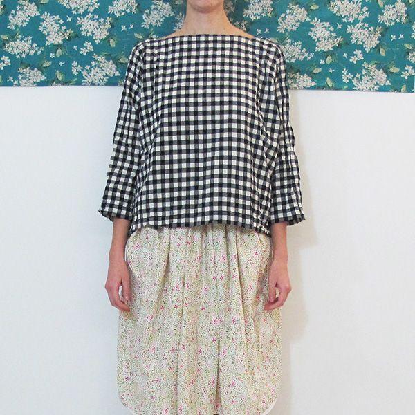 Daniela Gregis square neck shirt