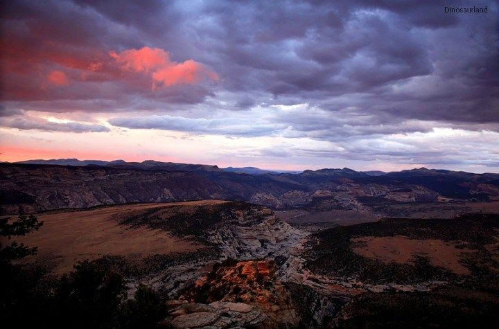 Spectacular views. Dinosaur National Monument. Utah.