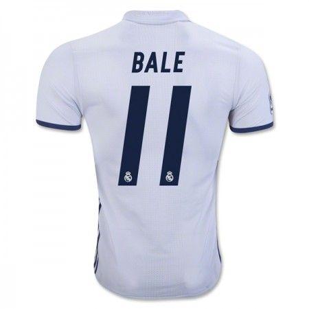 Real Madrid 16-17 Gareth #Bale 11 Hjemmebanesæt Kort ærmer,208,58KR,shirtshopservice@gmail.com