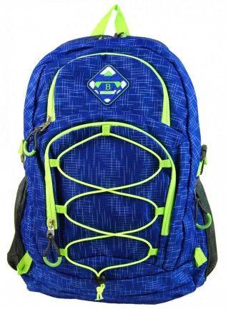 Velký batoh NEWBERRY do města / do školy HL0911 modrá - Kliknutím zobrazíte detail obrázku.