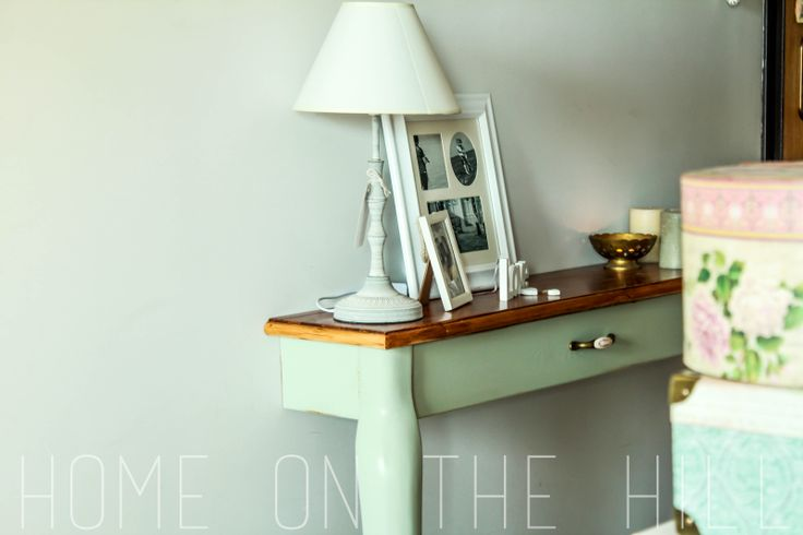 Pomysł na...własnoręcznie zrobioną konsolkę (DIY)   Home on the Hill - blog lifestylowy - wnętrza, inspiracje, kuchnia, DIY