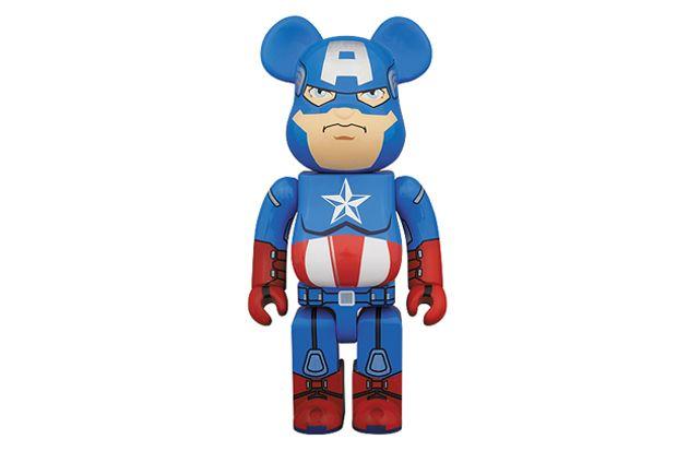 Captain America 400% Bearbrick