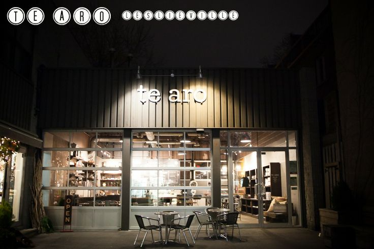 Te Aro- Leslieville's hot spot for a hot bevy, high ceilings and a bustling atmosphere. Coffee, sandwich, cold brew of caffeine and the best patio in the 'hood!