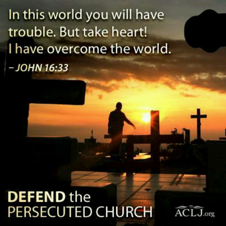 defend the persecuted church... Jesus.. I have to always come back to this one. Thank you! Your word is food for my soul. Your the best friend I could have asked for!