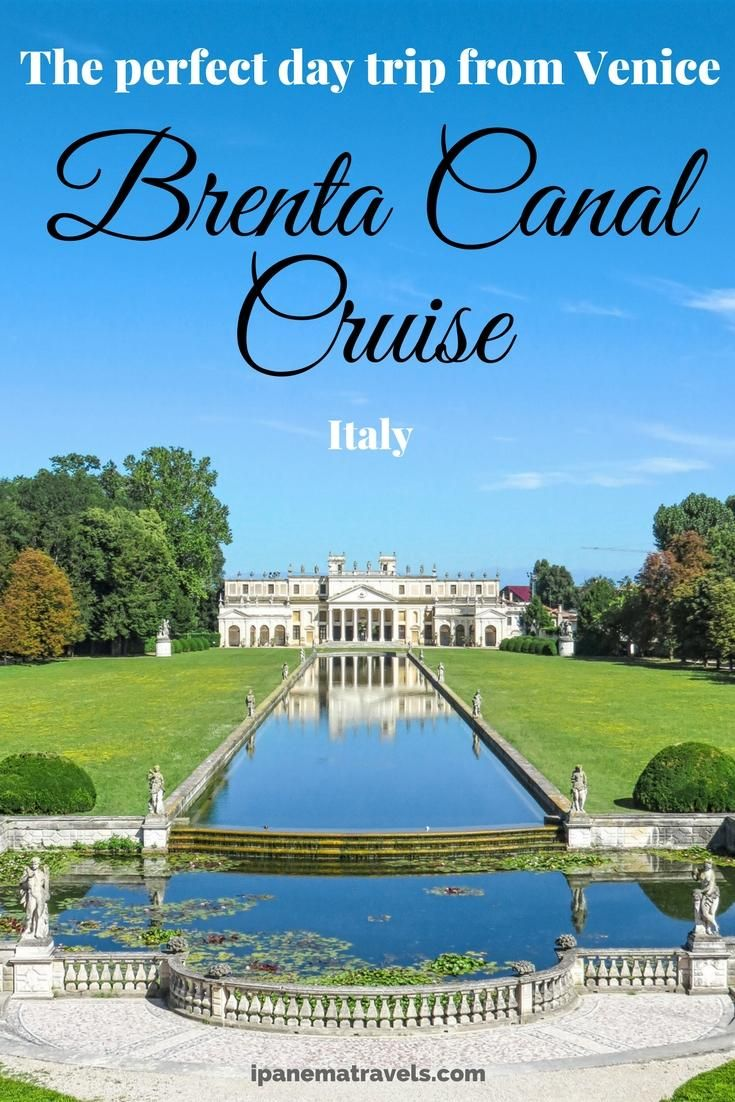 Looking for day trips from Venice (Italy)? The Brenta Canal Boat Tour is the perfect river cruise in Italy! See the most beautiful Venetian villas: Villa Pisani, Villa Widmann and Villa Foscari (La Malcontenta)! End your trip in another great city Padua! Read here how to plan and book this excursion from Venice. #Venice #Venetianvillas #Padua #Italy #rivercruise via @ipanemat