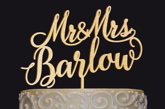 Bienvenue sur LASERTREE !  Nos olives sur mesure fait à la main « Mr & Mrs nom » combinent un design élégant avec lexpression de vos sentiments pour lautre. Célébrez votre occasion spéciale avec un beau gâteau que vous et vos invités vont adorer ! Chaque gâteau de mariage est fait à partir de bouleau épaisseur bois léger, résistant et éco-1/8 po. Vous pouvez choisir une forme de gâteau de bois naturel ou celui qui est peint avec la couleur de votre choix à la main.  FINITION de la c...
