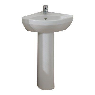 Cddef95500f1e538ec2fc1d428e9b2a1  Corner Pedestal Sink Bathroom Sinks
