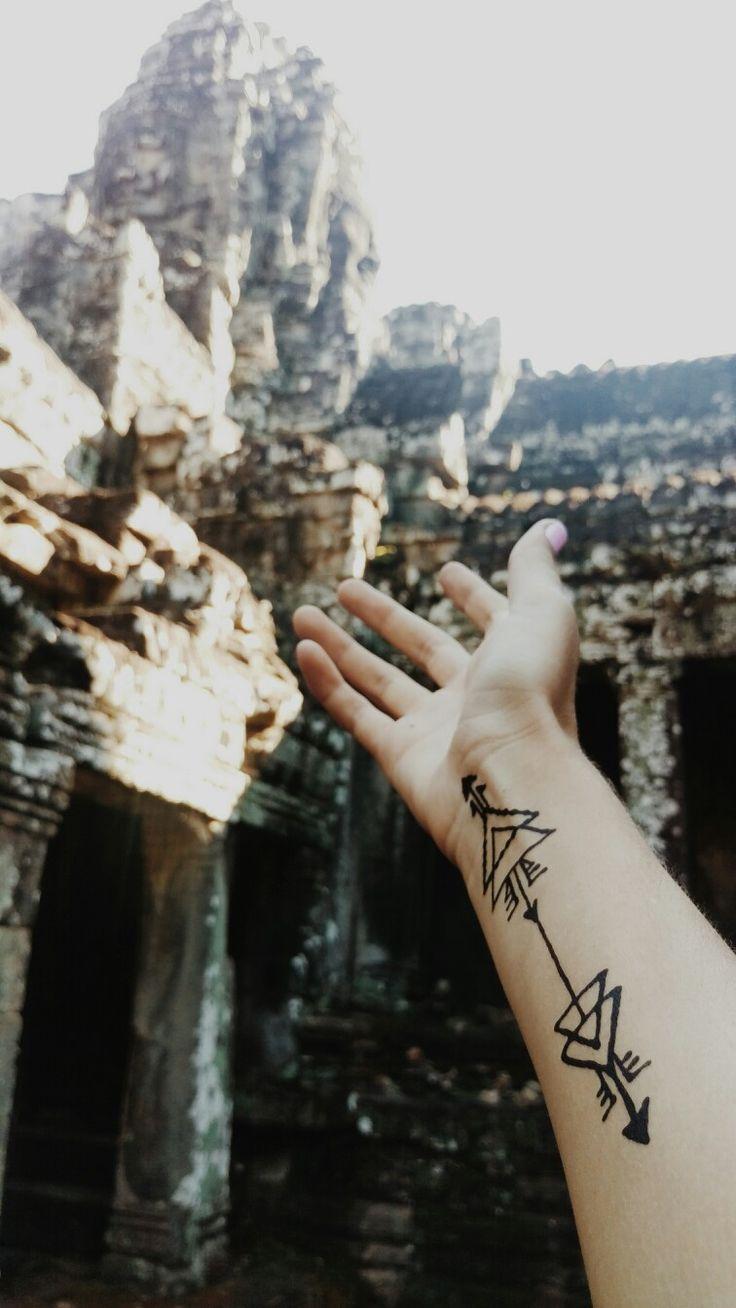 #cambodia #pattern #temple #travel #henna #photo