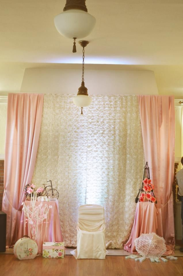 paris style baby shower backdrop baby shower decorations pinterest